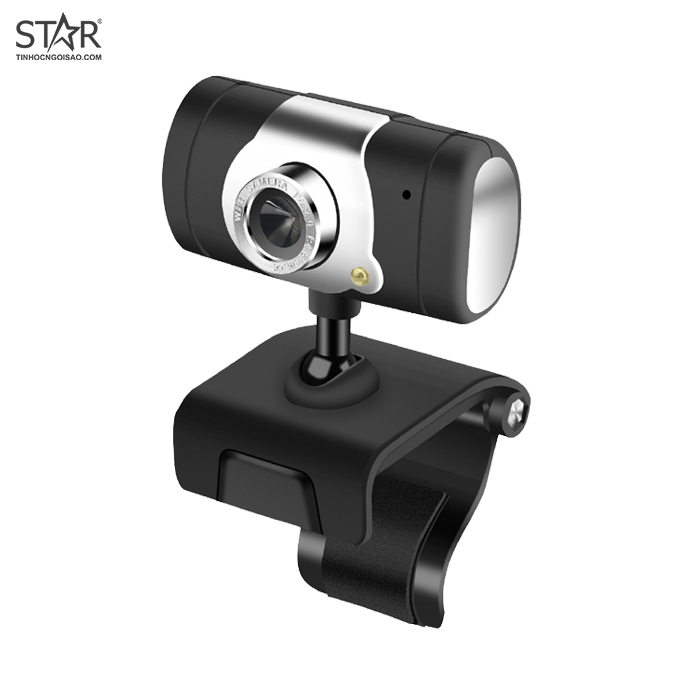Webcam chân kẹp HD 480P