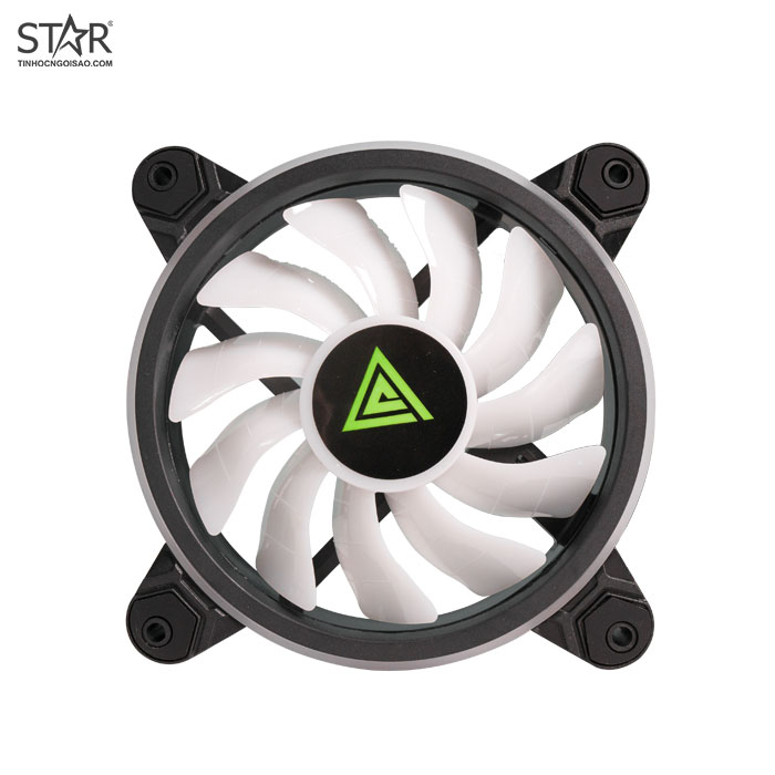 Fan Case VSP V207 ARGB 12cm Pack 3 Fan (Hub + Remote)