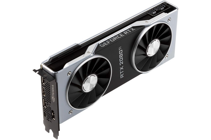 VGA NVIDIA RTX 2080Ti 11G GDDR6 GEFORCE Founders Edition