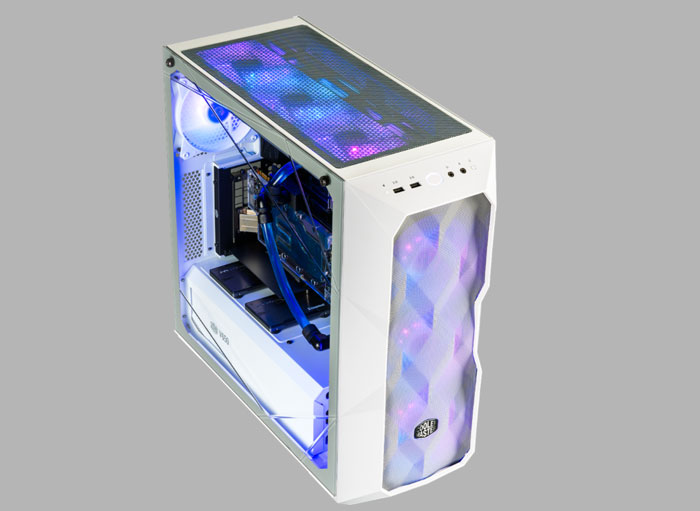 Case Cooler Master MasterBox TD500 Mesh White Mid Tower