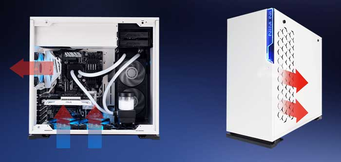 Case InWin 101 White ATX Mid Tower