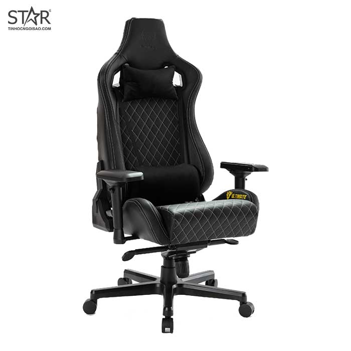 Ghế Gaming E-Dra LUX Ultimate EGC2020 Real Leather (Đen)