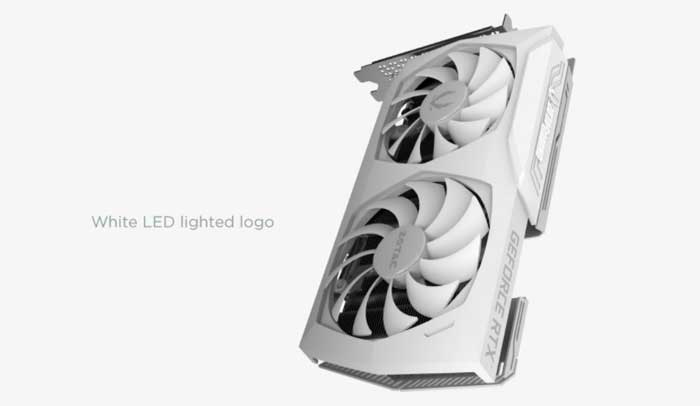Zotac RTX 3070 8G GDDR6 Gaming Twin Edge OC White Edition