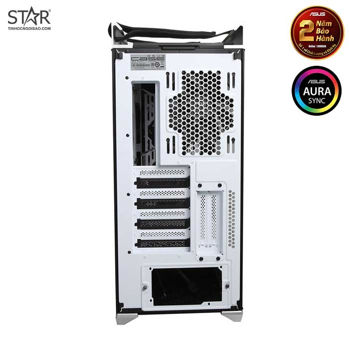 Thùng máy Case Asus ROG Strix Helios GX601 RGB White Edition Mid Tower