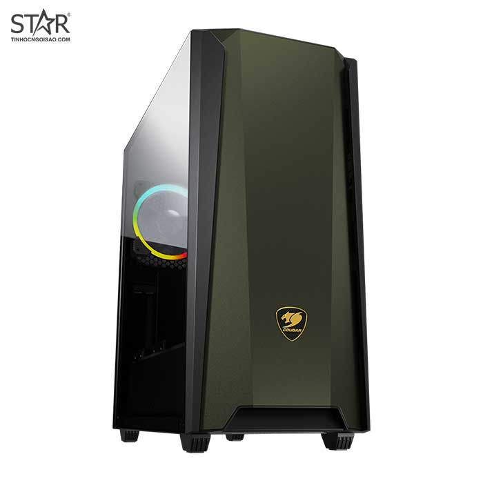 Case COUGAR MX660 Iron RGB Midnight Green Mid Tower